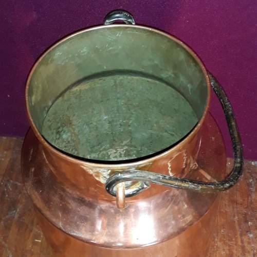 German Copper Milk Churn or Umbrella Stand image-3
