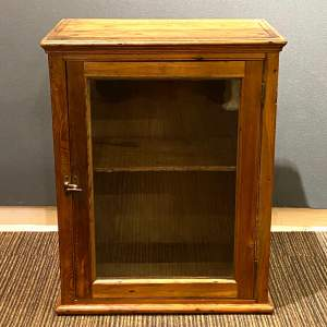 Mid 20th Century French Pine Farmhouse Cabinet