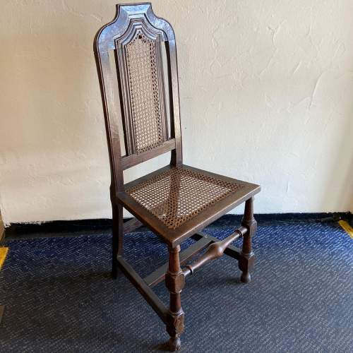 19th Century Oak Hall Chair image-1