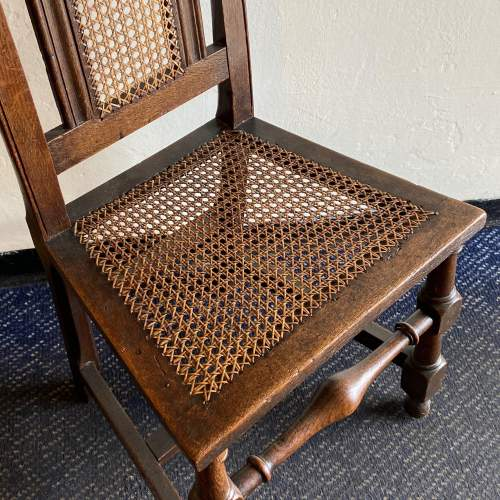 19th Century Oak Hall Chair image-4