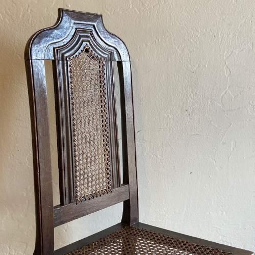 19th Century Oak Hall Chair image-3