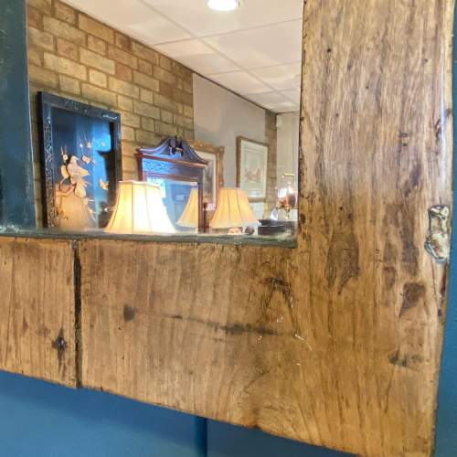 Rustic Arched Mirror image-2