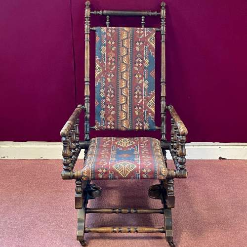 Late 19th Century American Rocking Chair image-2