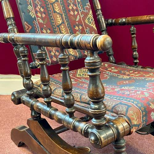 Late 19th Century American Rocking Chair image-3