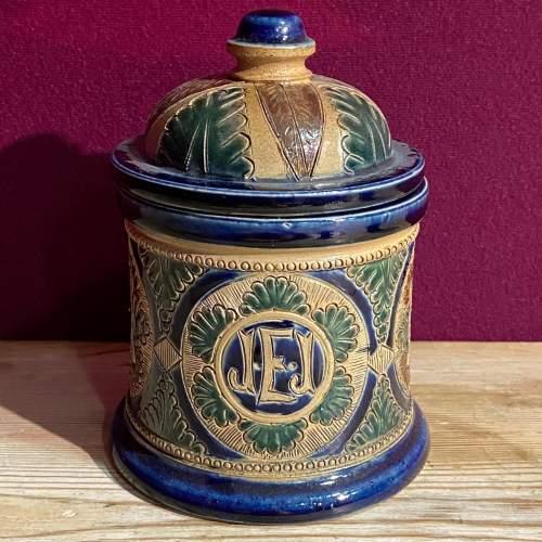 Fulham Pottery Storage Jar image-1