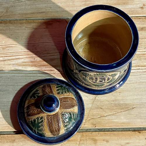 Fulham Pottery Storage Jar image-4