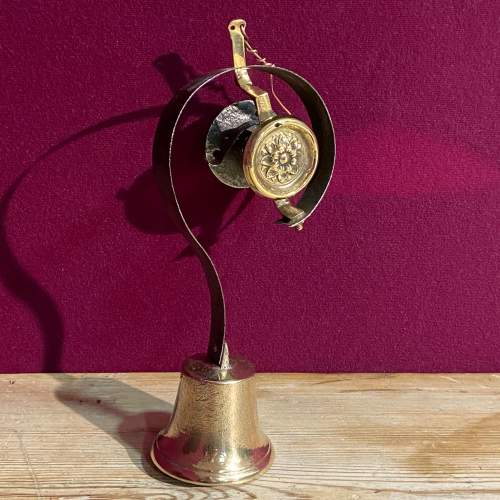 Brass And Iron Servant Bell image-1