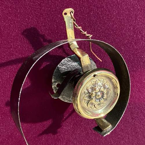 Brass And Iron Servant Bell image-2