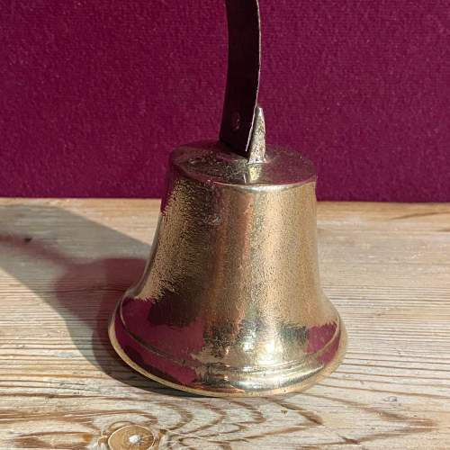Brass And Iron Servant Bell image-3