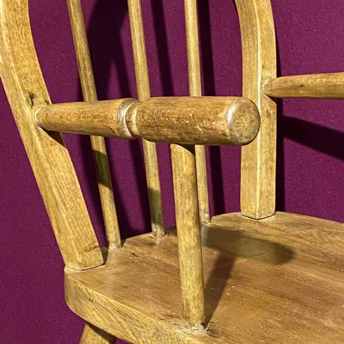 Vintage Childs Stick Back Chair image-4