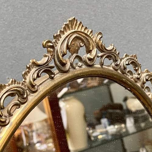 19th Century Mahogany Gents Shaving Mirror image-6