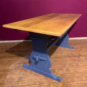 Maple and Co Oak Dining Table
