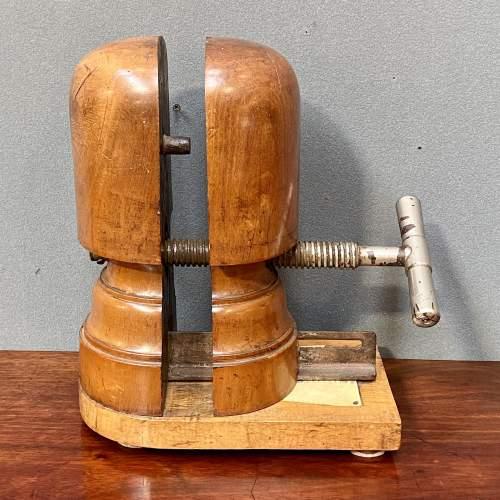19th Century Wooden Hat Stretcher image-1