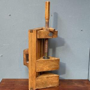 19th Century Fruitwood Press