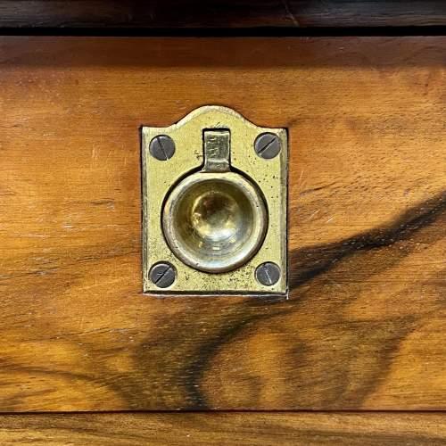 19th Century Small Figured Walnut Cabinet image-5