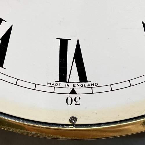 Large Brass Ships Clock image-4
