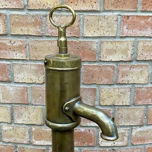 Antique Brass Water Pump image-2