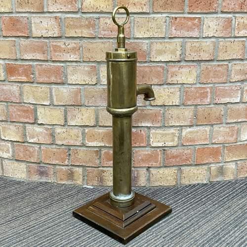 Antique Brass Water Pump image-4