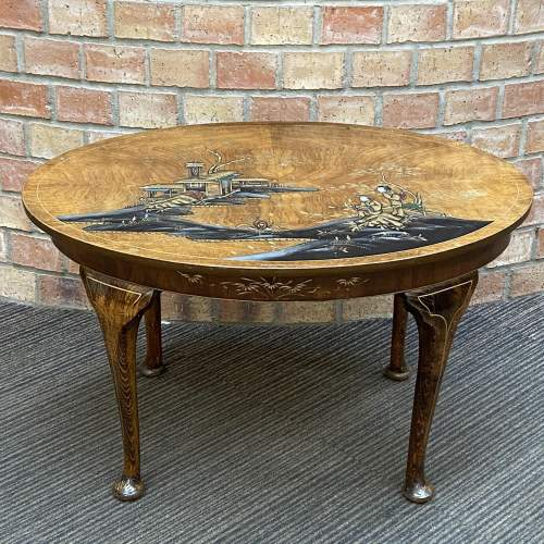 Early 20th Century Chinoiserie Coffee Table image-1