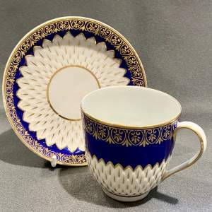 Late 18th Century Derby Cup and Saucer