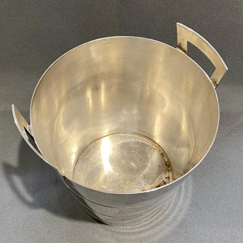 Art Deco Walker and Hall Silver Plated Wine Cooler image-2
