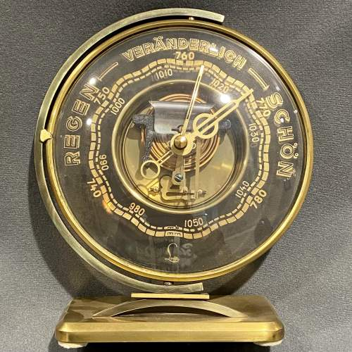 Rare Swivel Base Barometer by Lufft of Germany image-1