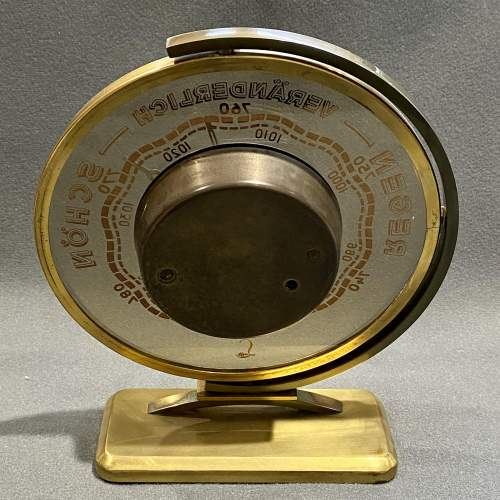Rare Swivel Base Barometer by Lufft of Germany image-5