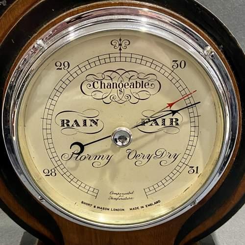 Art Deco Short and Mason Barometer image-3