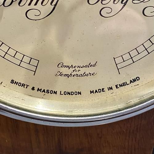 Art Deco Short and Mason Barometer image-4