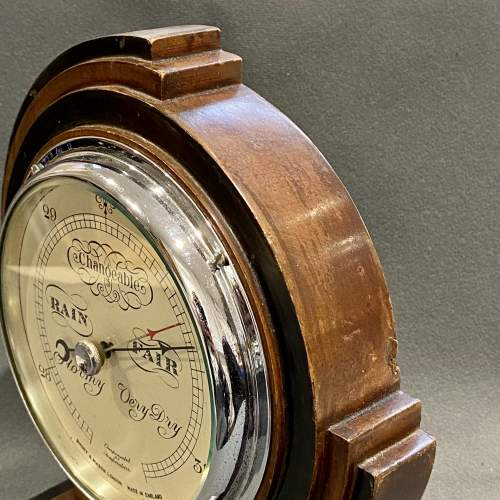 Art Deco Short and Mason Barometer image-5
