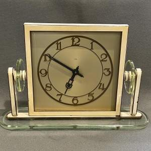 1930s Art Deco Style 8-Day Mantel Clock
