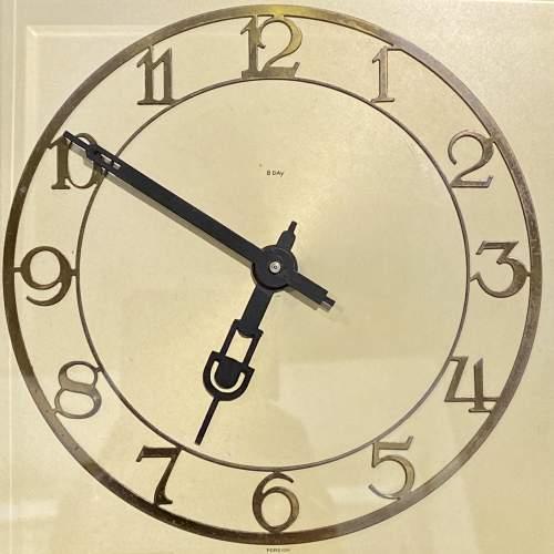 1930s Art Deco Style 8-Day Mantel Clock image-3