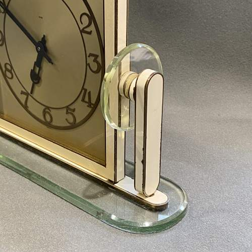 1930s Art Deco Style 8-Day Mantel Clock image-4