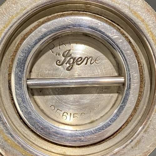 Rare Igene Art Deco Silver Plated Cocktail Shaker image-4