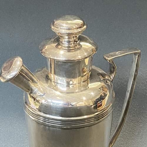 Rare Igene Art Deco Silver Plated Cocktail Shaker image-6