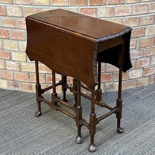 Edwardian Mahogany Sutherland Table image-1