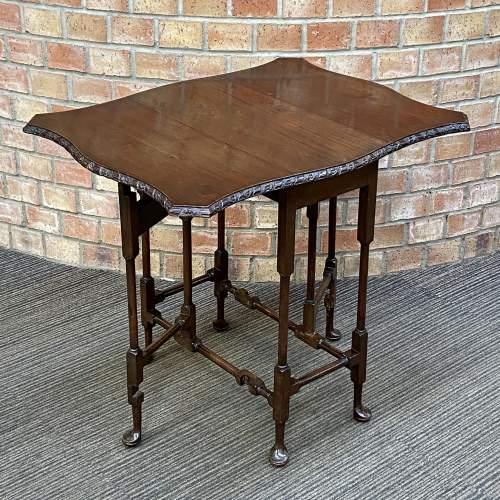Edwardian Mahogany Sutherland Table image-2