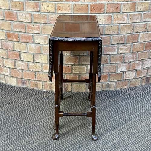 Edwardian Mahogany Sutherland Table image-3