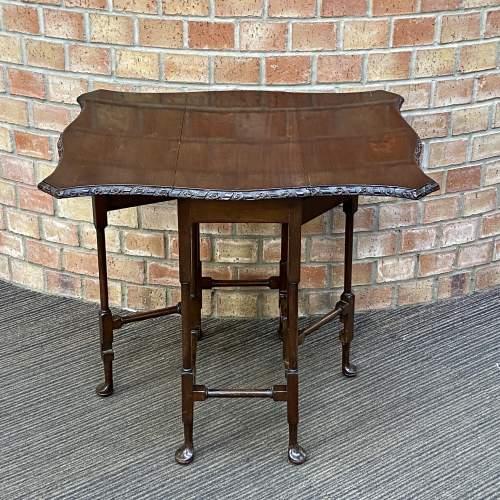 Edwardian Mahogany Sutherland Table image-4