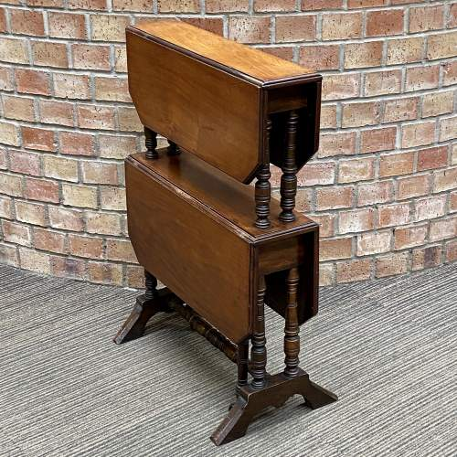 Victorian Mahogany Two Tier Sutherland Table image-3