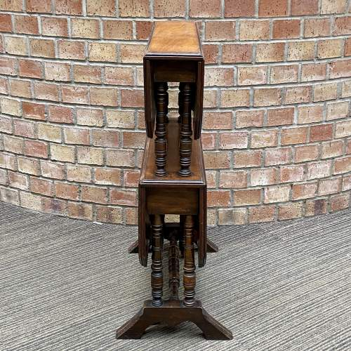 Victorian Mahogany Two Tier Sutherland Table image-5