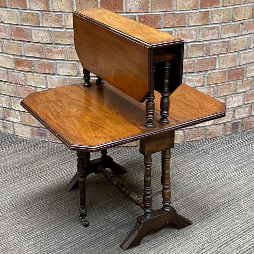 Victorian Mahogany Two Tier Sutherland Table image-2