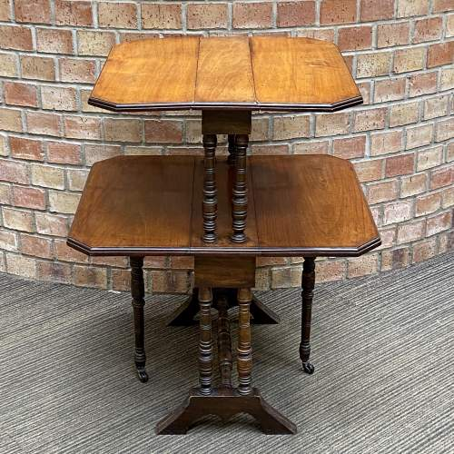 Victorian Mahogany Two Tier Sutherland Table image-6