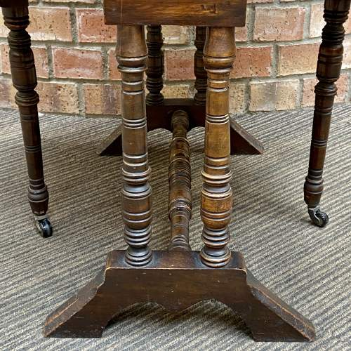 Victorian Mahogany Two Tier Sutherland Table image-4