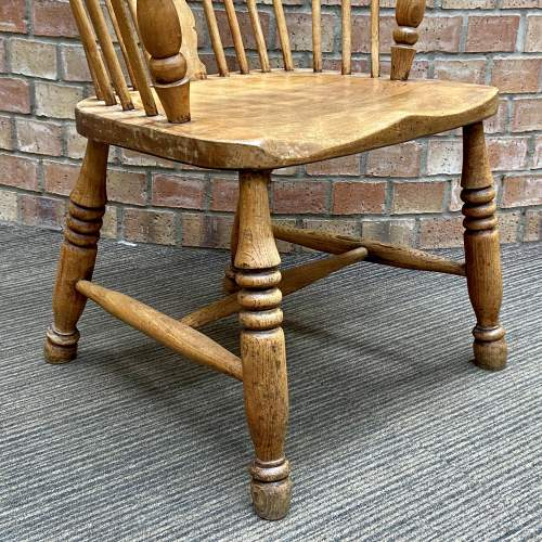 19th Century Elm and Beech Windsor Chair image-4