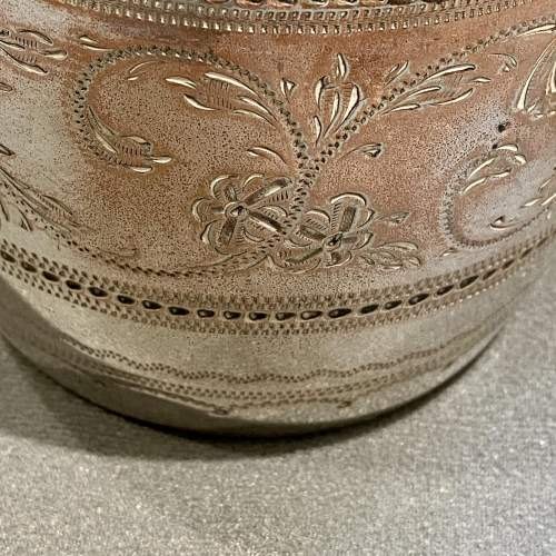 Victorian James Deakin Silver Plated Biscuit Barrel image-2