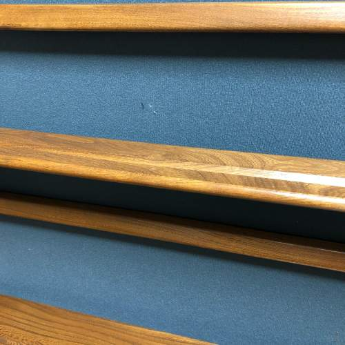 Ercol Light Oak Shelves Plate Rack image-5