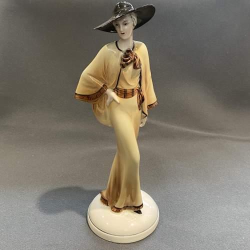 1930s Art Deco Figure by Katzhutte image-1