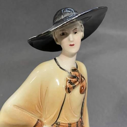 1930s Art Deco Figure by Katzhutte image-2