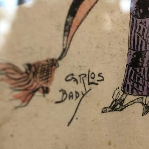 Carlos Bady French Illustrated Postcard image-2